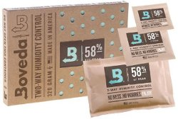 Boveda Humidipacks can help restore moisture to overdried weed. Boveda 58 and Boveda 62 Humidipacks are the most commonly used humidity percentages for drying marijuana.