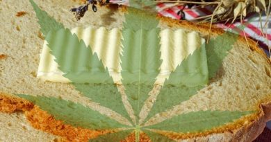 cannabutter recipe: how to make cannabutter with marijuana flowers and leaves