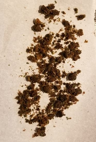 In order to turn THCA into psychoavtive THC you'll first need to decarb scissor hash in an oven at low temperatures.