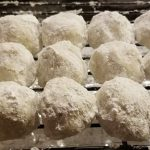 Russian Tea Cakes recipe aka snowball cookies recipe: weed edibles recipes using cannabutter